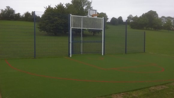 KickWall at St Judith's Field