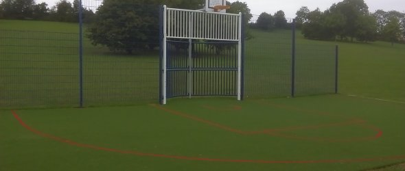 Image: The Kick Wall at St Judith's Field